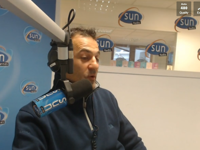 Interview d'Alessandro Di Benedetto sur Sun Radio