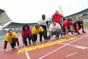 La course connectée du Téléthon, top départ au stade Charléty !